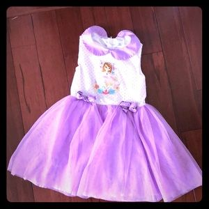 Purple princess Sofia dress